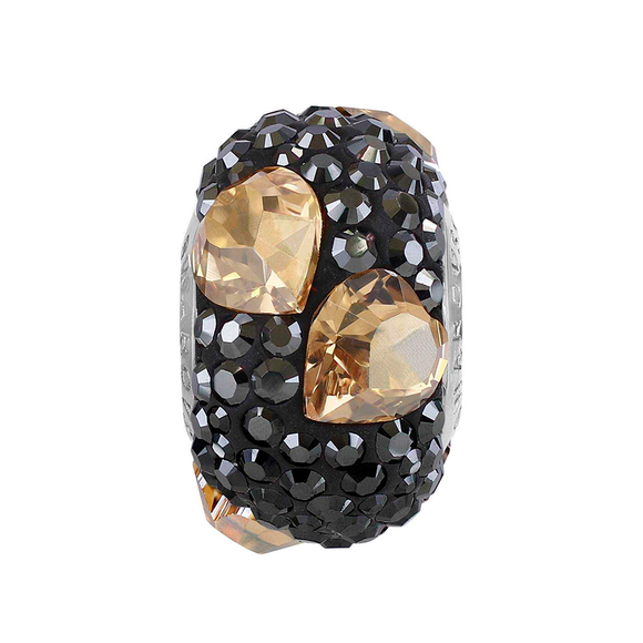 5161249 - BECHARMED CRYSTAL GOLDEN SHADOW / HEMATITE  SWAROVSKI - METAL RODINADO