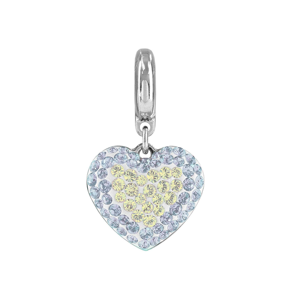 5169739 - BECHARMED CRYSTAL WHITE SWAROVSKI - METAL RODINADO
