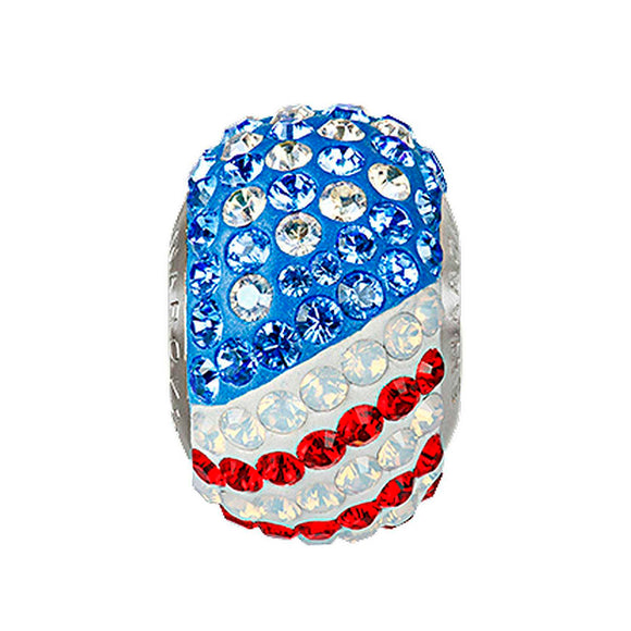 5221925 - BECHARMED CRYSTAL FLAG EEUU SWAROVSKI - METAL RODINADO