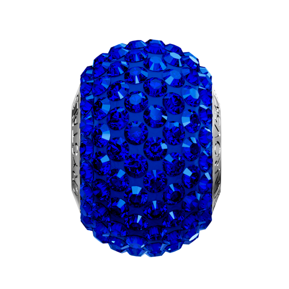 5434625 -  BECHARMED CRYSTAL MAJESTIC BLUE SWAROVSKI - METAL RODINADO