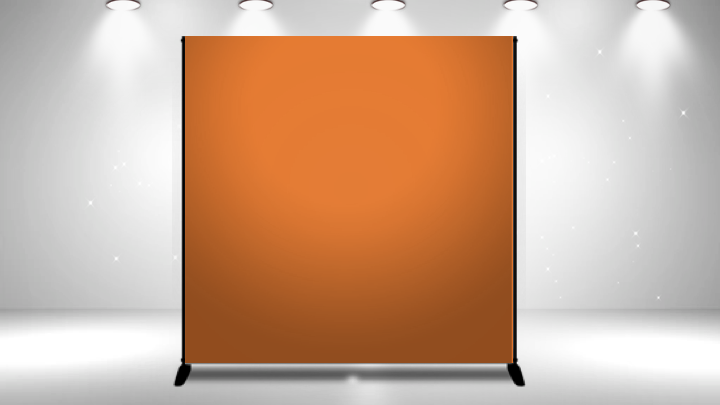 step and repeat backdrop banner - publisher diy