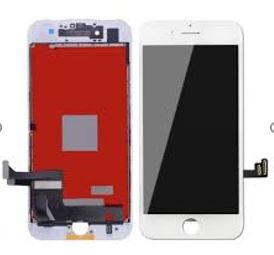 iPhone 7P Screen Replacement with small parts - White (Basic)