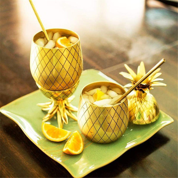 Coupe à Cocktail Ananas Deluxe