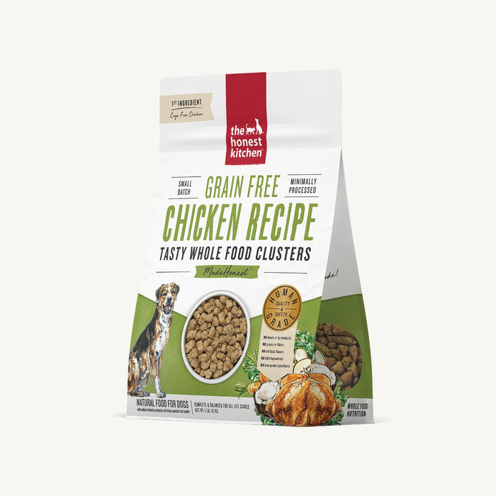 THE HONEST KITCHEN WHOLE FOOD CLUSTERS - GRAIN FREE CHICKEN