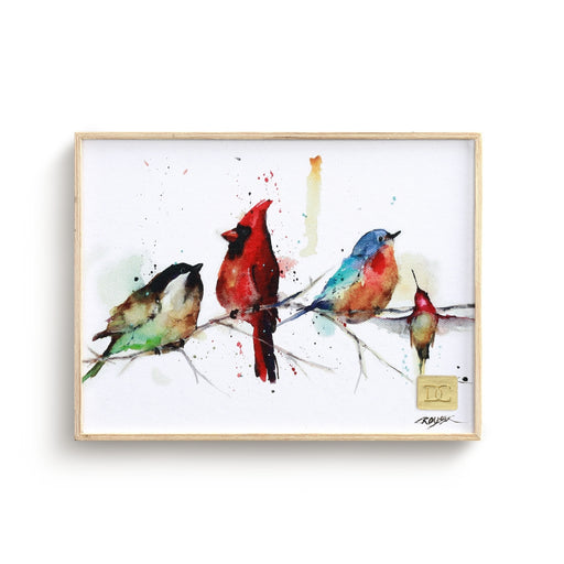 LITTLE BIRDS WALL ART - 6X8
