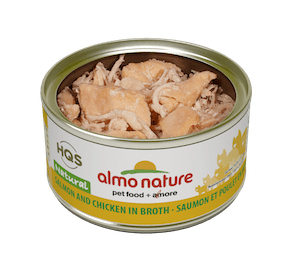 Almo Nature Salmon & Chicken Cat Canned Food