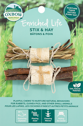 Oxbow Enriched Life - Stix & Hay