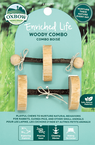 Oxbow Enriched Life - Woody Combo