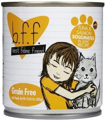 Weruva BFF Tuna and Salmon Soulmates in Aspic Canned Cat Food