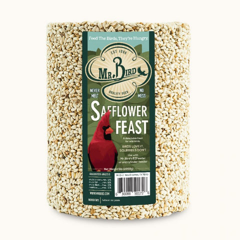 Mr. Bird Safflower Feast Seed Cylinder