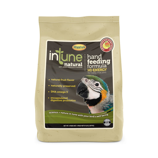 Higgins inTune® Natural Hand Feeding Hi-Energy Formula