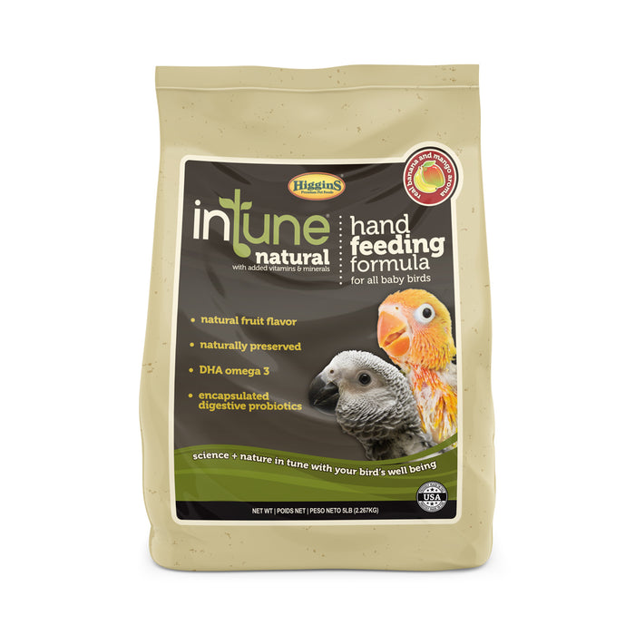 Higgins inTune® Natural Hand Feeding Formula