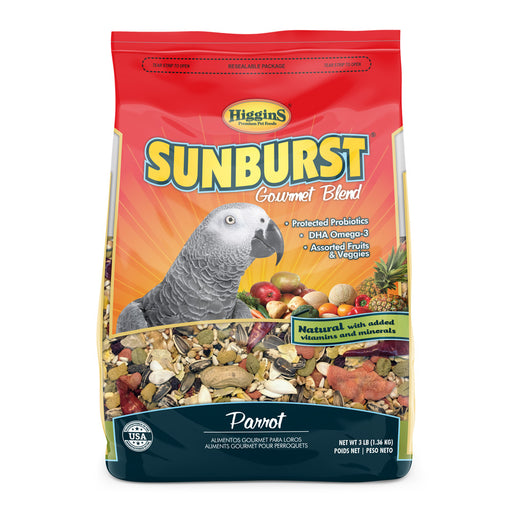 Higgins Sunburst® Gourmet Blends for Parrots