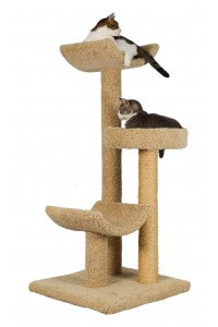 Molly and Friends Layabout Three-tier Scratching Post Cat Furniture