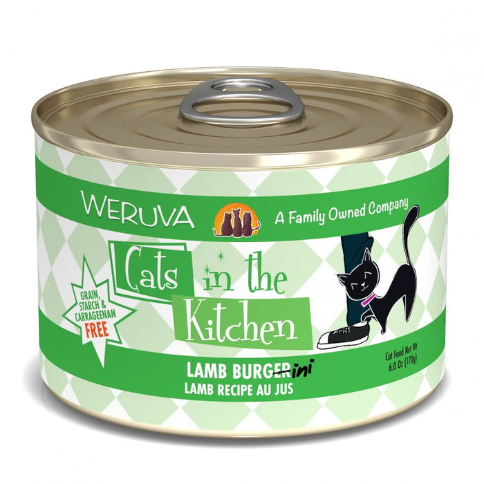 Weruva Cats in the Kitchen Lamb Burgerini Canned Cat Food