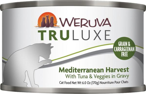 Weruva TRULUXE Mediterranean Harvest with Tuna and Veggies in Gravy Canned Cat Food