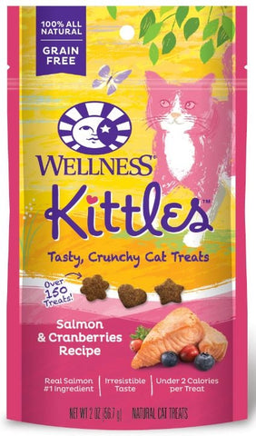 Wellness Kittles Crunchy Salmon & Cranberry Cat Treats