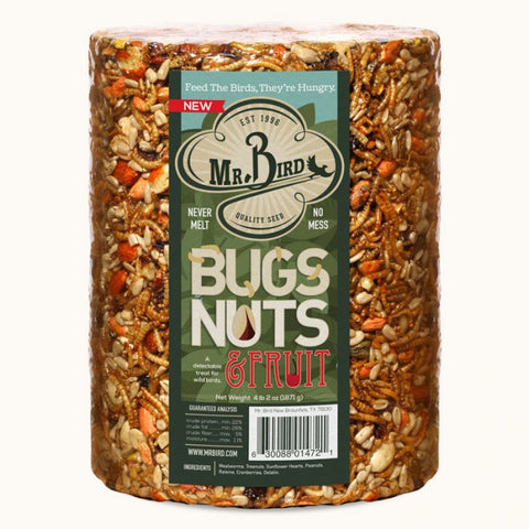 Mr. Bird Bugs, Nuts, & Fruit Seed Cylinder
