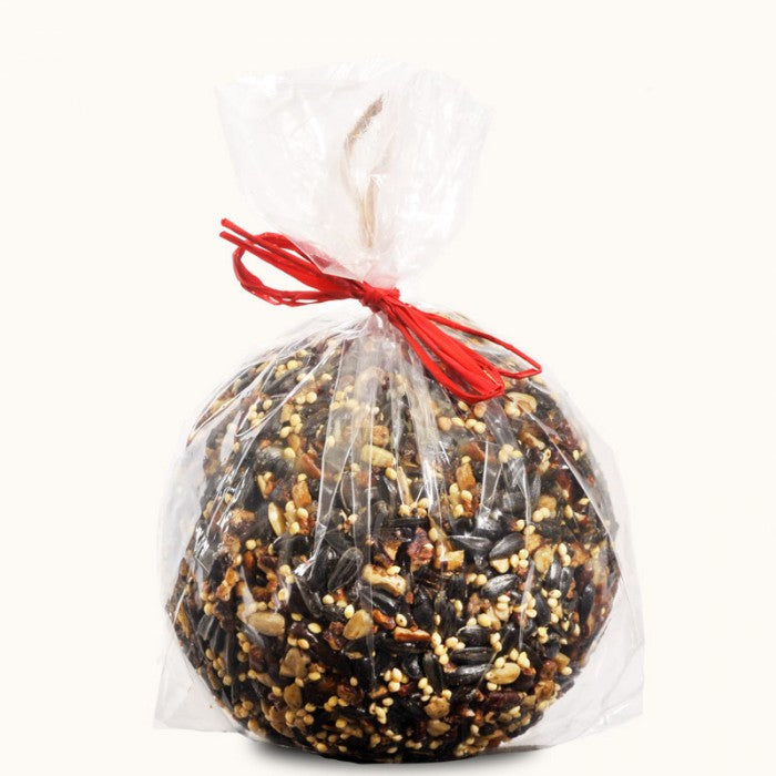 Mr. Bird Seed & Nut Ornaments Bagged