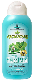 AromaCare™ Cooling Herbal Mint Shampoo for Dogs