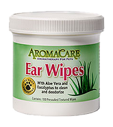 AromaCare™ Ear Wipes for Dogs