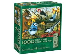 BACKYARD FEEDER 1,000 PIECE PUZZLE