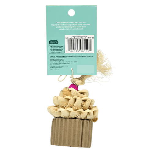 Oxbow Enriched Life- Celebration Cupcake