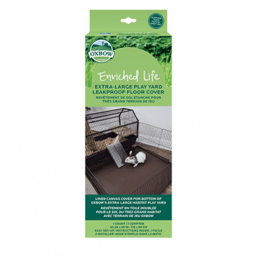 Oxbow Enriched Life - Leakproof Play Yard Floor Cover L