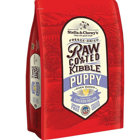 Stella & Chewy's Raw Coated Chicken Puppy Recipe Dog Food