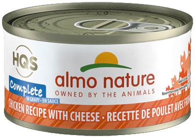 Almo Nature Complete Chicken Recipe with Cheese Grain-Free Canned Cat Food, 2.47-oz, case of 24