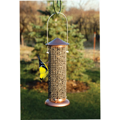 Brushed Copper Mini Sunflower Screen Feeder
