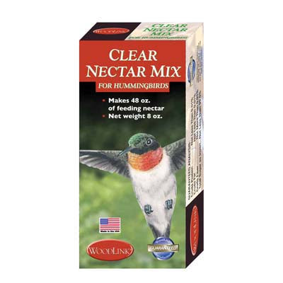 Clear Nectar Mix for Hummingbirds