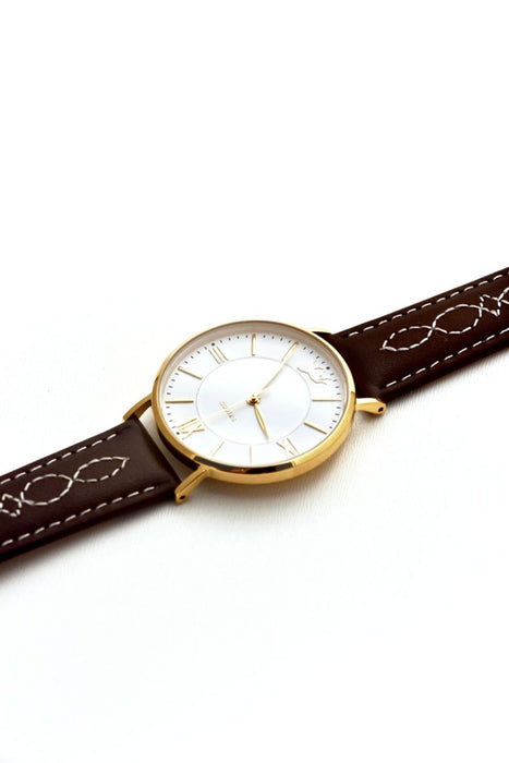 FANCY STITCH WRIST WATCH