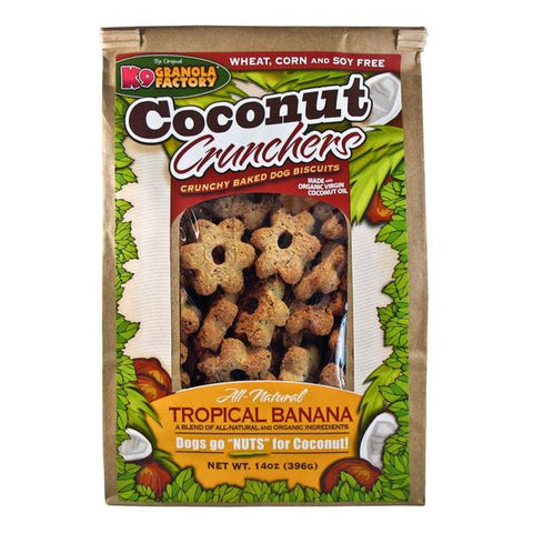 Coconut Crunchers with Tropical Banana