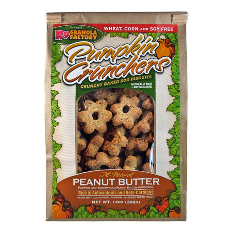 Pumpkin Crunchers with Peanut Butter & Banana