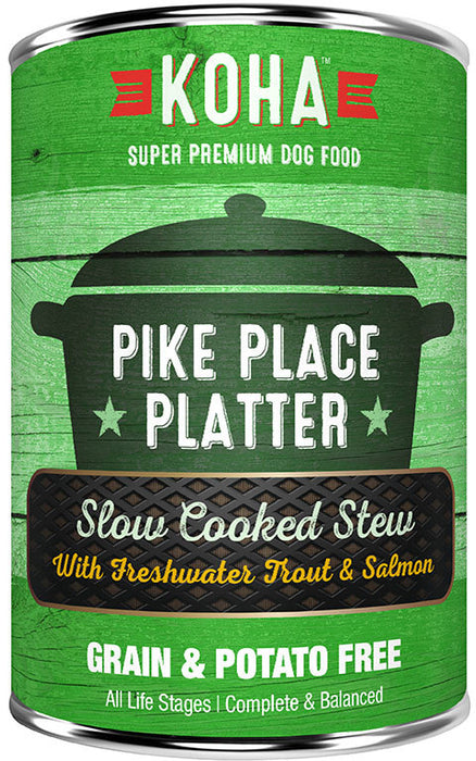 KOHA Pike Place Platter: Trout & Salmon Stew Dog Food