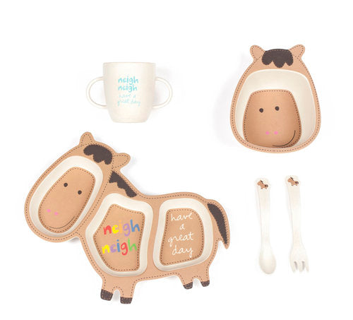 Holly the Horse Bamboozle Dinner Set