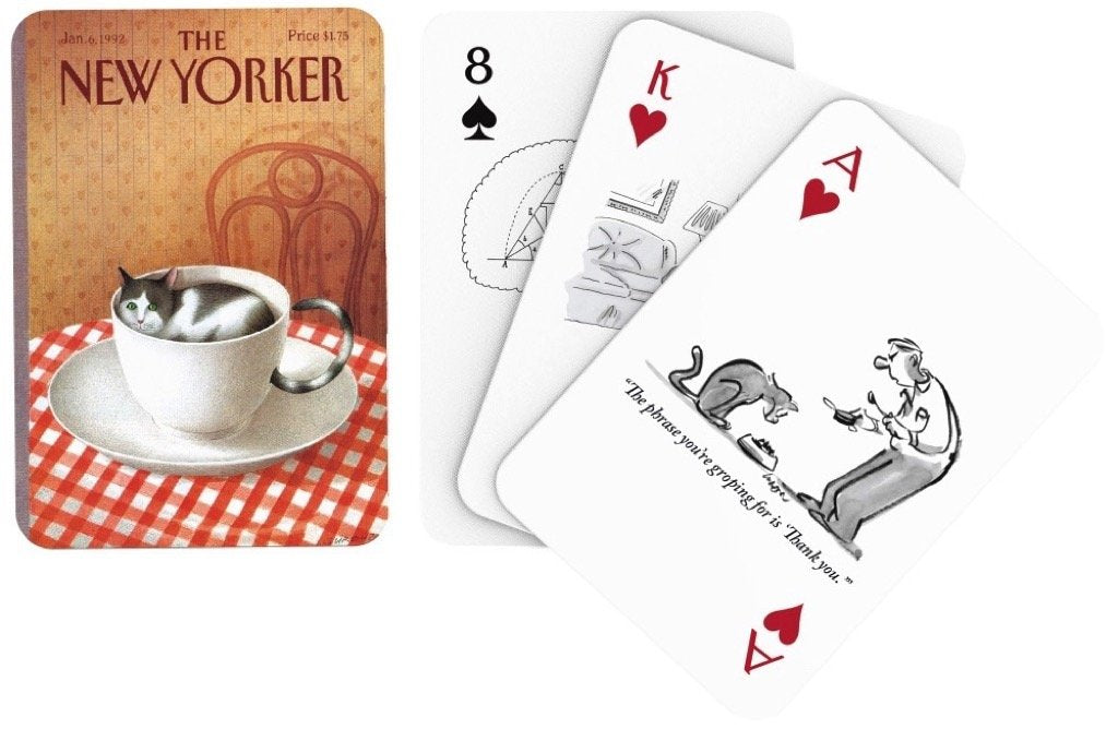 CAT CARTOONS PLAYING CARDS