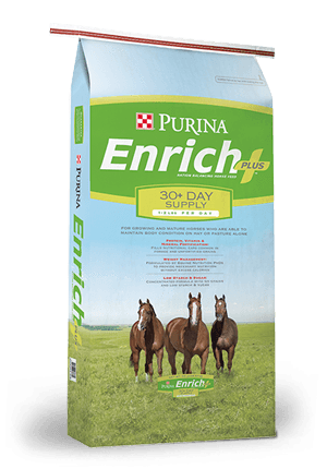 Purina® Enrich Plus® Ration Balancing Horse Feed
