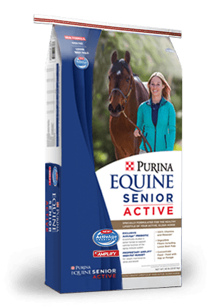 Purina® Equine Senior® Active Horse Feed