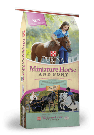 Purina® Miniature Horse & Pony Feed