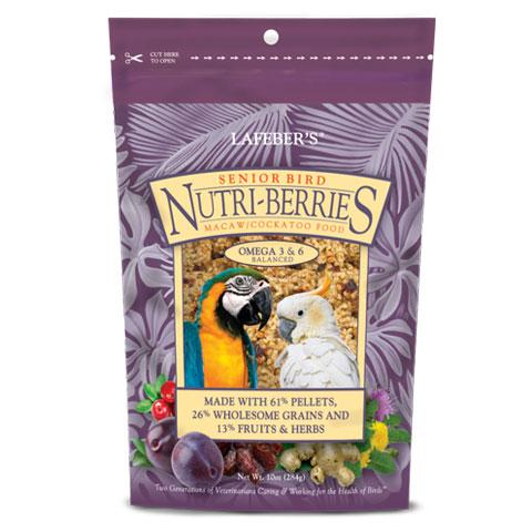Lafeber's Nutri-Berries Senior Macaw/Cockatoo Food