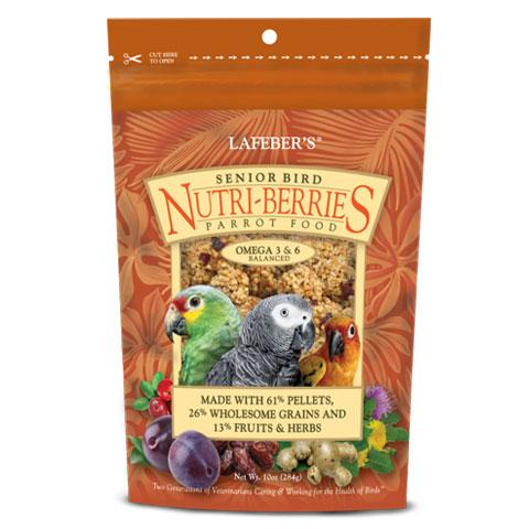 Lafeber's Nutri-Berries Senior Bird Parrot Food