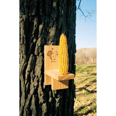 Cedar Squirrel Ear Corn Feeder