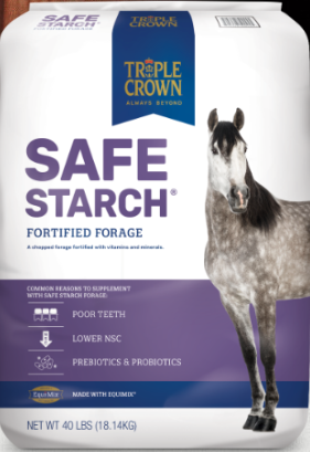 Triple Crown Safe Starch Forage for Horses