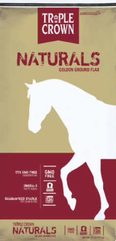 Triple Crown Naturals Golden Ground Flax