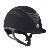 One K Defender Suede Jr. Helmet - Black Matte