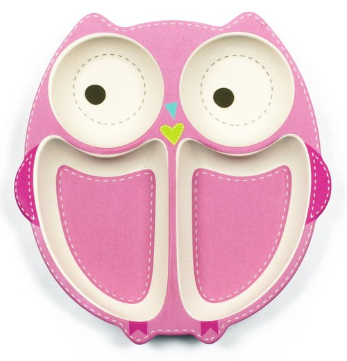 Olivia the Owl Bamboozle Dinner Set