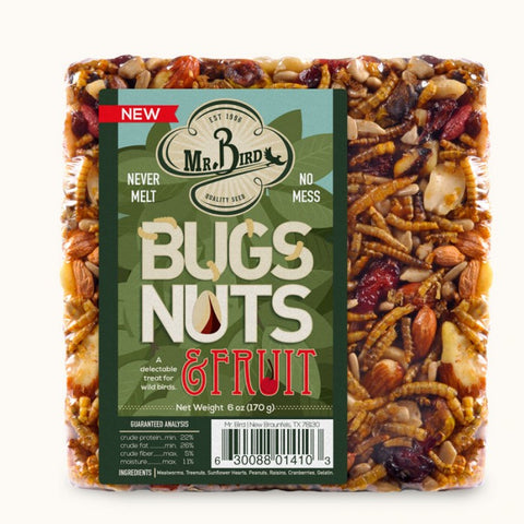 Mr. Bird Bugs, Nuts, & Fruit Seed Block