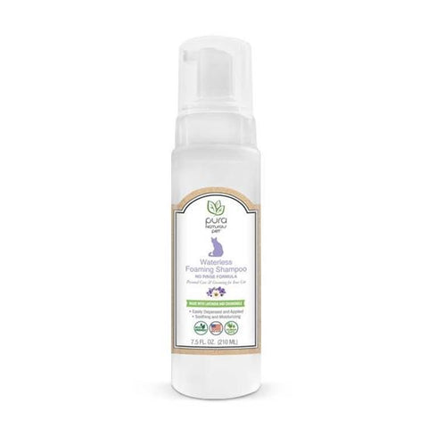Pura Naturals Pet Waterless Foaming Feline Shampoo